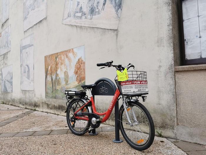 Port-sur-Saône vélo